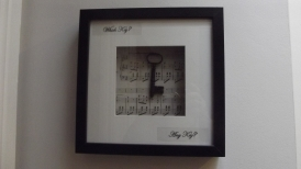 Lovely gifts for Christmas! Antique Key Framed Pictures - €15