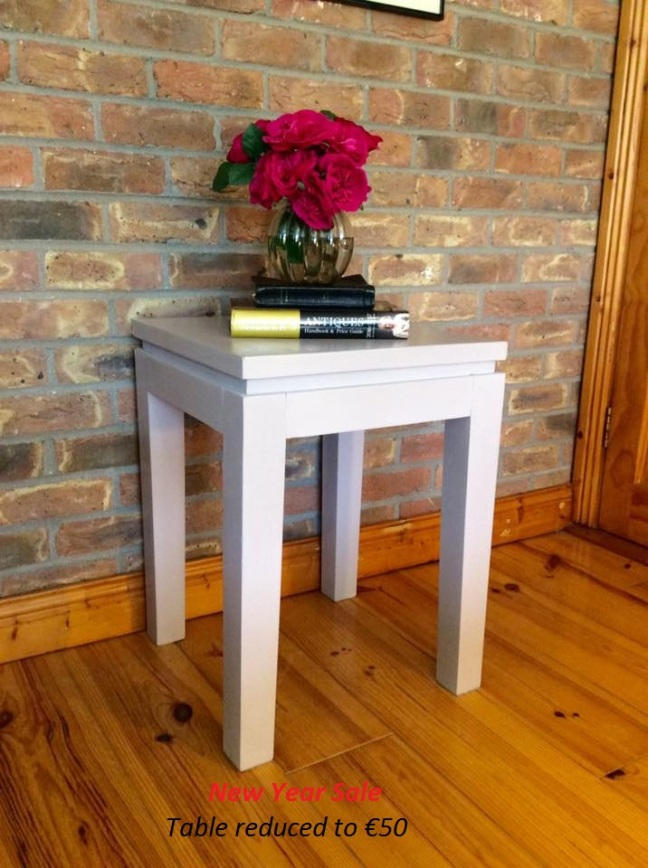Grey Lamp Table